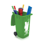 Mini Wheelie Bin Stationery Holder