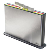 Stainless Steel Index Chopping Board