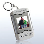 Keychain Digital Photo Frame w/ Alarm