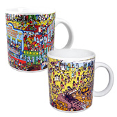 Where's Wally Coffee Mugs