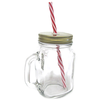 Avanti 4pc Mason Jar & Caddy Set