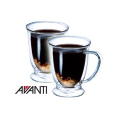 Avanti Oko 2pc Double Wall Mug Set