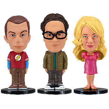 Funko The Big Bang Theory Bobble Head Set