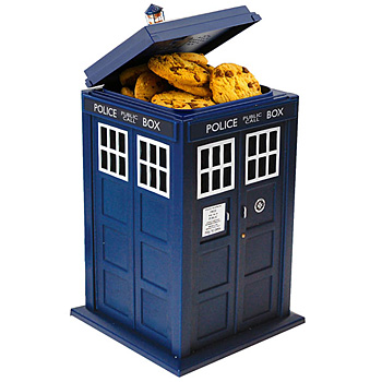 Wesco Doctor Who Tardis Cookie Jar