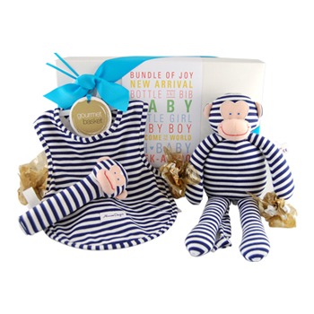 Navy Cheeky Monkey Gift Hamper