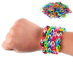 600pc Loom Bands Rubber Band Bracelet Kit