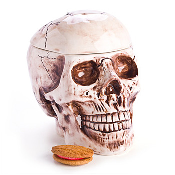 Realistic Skull Cookie Jar