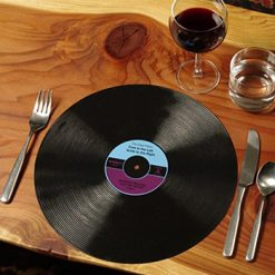 Vinyl Record Silicone Placemats